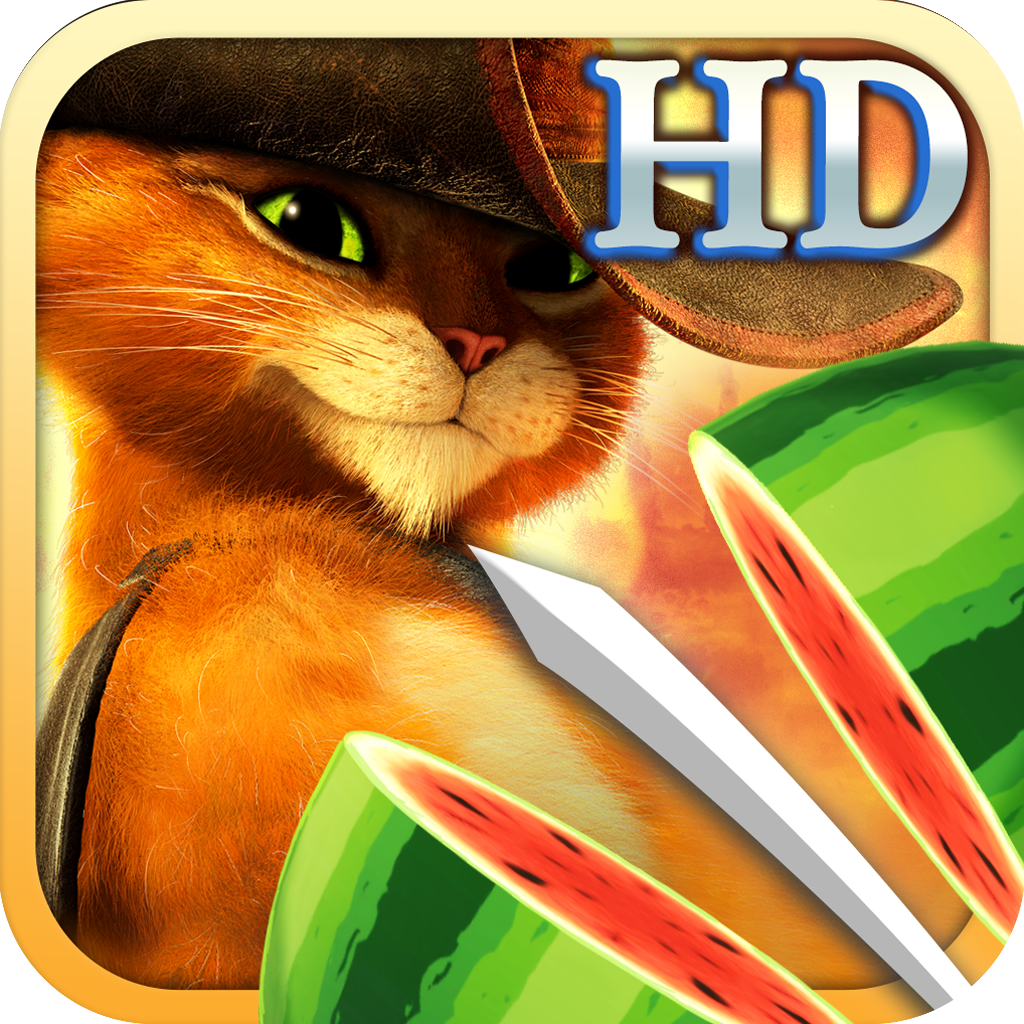 Fruit Ninja: Puss in Boots HD iOS